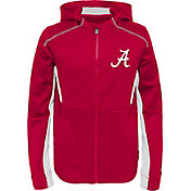 Gen2 Youth Alabama Crimson Tide Crimson Hi-Tech Full-Zip Hoodie