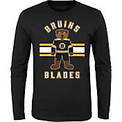 NHL Youth Boston Bruins Mascot Black Long Sleeve Shirt