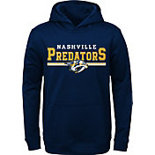 NHL Youth Nashville Predators MVP Navy Pullover Hoodie