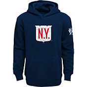 NHL Youth 2018 Winter Classic New York Rangers Crest Navy Pullover Hoodie