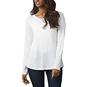 prAna Women's Foundation Crew Long Sleeve Shirt
