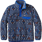 Patagonia Boys' Lightweight Synchilla Snap-T Fleece Pullover