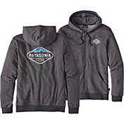 Patagonia Men's Fitz Roy Crest Lightweight Full Zip Hoodie