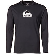 Quiksilver Men's Solid Streak Long Sleeve Rash Guard