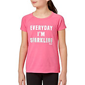 Reebok Girls' Cotton Raglan T-Shirt