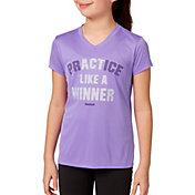Reebok Girls' Graphic V-Neck T-Shirt