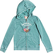 Roxy Girls' Be The Overflow Coconut Party Full Zip Hoodie
