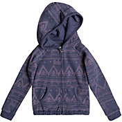 Roxy Little Girls' Make Me Swim Full Zip Hoodie