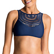 Roxy Women's Sea Lovers Crop Bikini Top