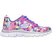 Skechers Kids' Grade School Skech Appeal Rainbow Runner Shoes