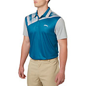 Slazenger Men's Mineral Chest Print Golf Polo