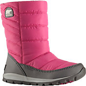 SOREL Kids' Whitney Mid 200g Waterproof Winter Boots