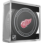 Sher-Wood Detroit Redwings 100th Anniversary Puck