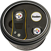 Team Golf Pittsburgh Steelers Switchfix Divot Tool and Ball Markers Set