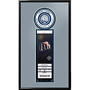 New York Yankees Derek Jeter Jersey Retirement Single Ticket Frame