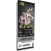 That's My Ticket 2017 NBA Finals Champions Golden State Warriors Mega Ticket