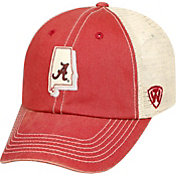 Top of the World Men's Alabama Crimson Tide Crimson/White United Adjustable Snapback Hat