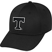 Top of the World Men's Tennessee Volunteers Parallax Black 1Fit Flex Hat
