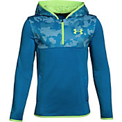 Under Armour Boys' Armour Fleece 1/4 Zip Hoodie