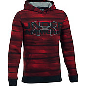 Under Armour Boys' Threadborne Big Logo Hoodie