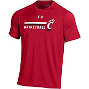 Under Armour Men's Cincinnati Bearcats Red Basketball Performance T-Shirt