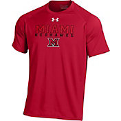 Under Armour Men's Miami RedHawks Red Tech T-Shirt