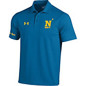 Under Armour Men's Navy Midshipmen Blue Angels Blue Vented Performance Polo