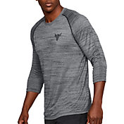 Under Armour Men's Project Rock ¾ Sleeve Shirt