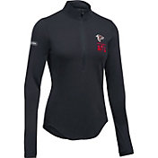 Under Armour NFL Combine Authentic Women's Atlanta Falcons Favorites Half-Zip Black Pullover