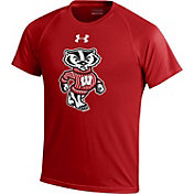 Under Armour Youth Wisconsin Badgers Red Performance T-Shirt