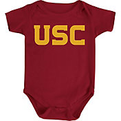 USC Authentic Apparel Infant USC Trojans Cardinal Wordmark Creeper