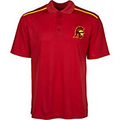 USC Authentic Apparel Men's USC Trojans Cardinal Polo