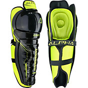 Warrior Senior Alpha QX5 Ice Hockey Shin Guards