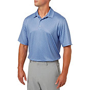 Walter Hagen Men's Distinguished Menswear Print Golf Polo
