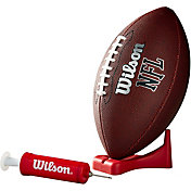 Wilson MVP Junior Football w/ Pump and Tee
