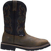 Wolverine Men's Rancher Wellington Steel Toe Work Boots