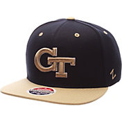 Zephyr Men's Georgia Tech Yellow Jackets Navy/Gold Z-Wool Z11 Snapback Hat
