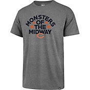 '47 Men's Chicago Bears Monsters of the Midway Grey T-Shirt