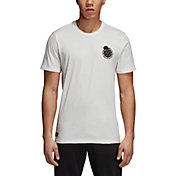 adidas Men's Real Madrid Graphic White T-Shirt
