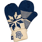 adidas Men's 2018 Stadium Series Toronto Maple Leafs Mittens