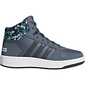 adidas Kids' Grade School Hoops 2.0 Mid Basketball Shoes