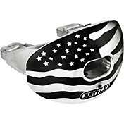 Battle Sports Science Oxygen American Flag Chrome Lip Guard