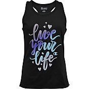 Champion Girls' Live Your Life Graphic Tank Top