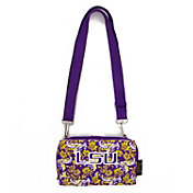 Eagles Wings LSU Tigers Quilted Cotton Cross Body Wallet