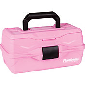 Flambeau Classic Pink Ribbon 1-Tray Tackle Box