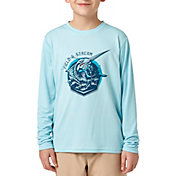 Field & Stream Youth Graphic Tech Long Sleeve Shirt