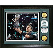 Highland Mint Super Bowl LII Champions Philadelphia Eagles Trophy Bronze Coin Photo Mint