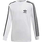 adidas Originals Boys' California Long Sleeve Tee