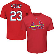 Majestic Men's St. Louis Cardinals Marcell Ozuna #23 Red T-Shirt