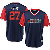 Majestic Men's Los Angeles Angels Mike Trout 'Kiiiiid' MLB Players Weekend Jersey
